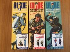 Vintage Action Man 40th Anniversary 1st Issue Soldier, Sailor, Pilot All Boxed