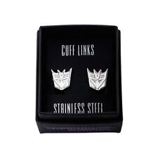 Transformers Decepticons Logo Stainless Steel Cuff Links