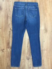 Old Navy Curvy Mid Rise Skinny Jeans Comfort Stretch Denim Womens Size 6 Reg