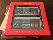 NINTENDO CLASSIC NES SWITCH WIRELESS CONTROLLER 2-PACK NEW, SEALED CONTROLLERS