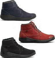 Romika MADERA 08 Ladies Womens Waterproof Wide Fit Lace-Up Casual Ankle Boots