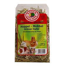 Hoppel Mobbel grüner Hafer 100g Einzelfuttermittel für Nager und Zwergkaninchen