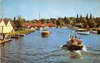 Norfolk Broads, The River Bure from Wroxham Bridge, Bateaux, Boats