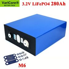 1pcs 3.2V 280Ah LiFePO4 Li-Ion  phosphate battery for 12V 24V battery inverter