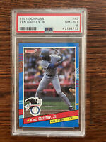 1991 Donruss George Ken Griffey Jr. ROOKIE All-Star PSA 8 NM-MT