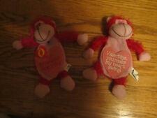 One Romance Drawstring Bag Hide Gift Present Favor Ape Monkey Valentine