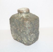 MOBACH Utretched Holland Pottery Modernist Brutalist Crude Vase Bottle MCM