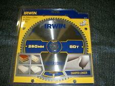 Irwin 1897427 costruzione circolare Lama 250 x 30mm x 80T ATB / NEG M