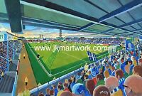Roots Hall Stadium Fine Art A4 Print - Southend United Football Club