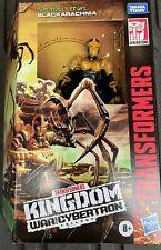 Transformers Kingdom Voyager War For Cybertron BLACKARACHNIA FACTORY SEALED NIB