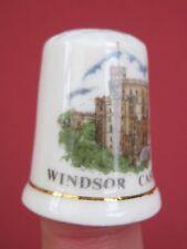 Vintage thimble Windsor Castle,Bone China British made