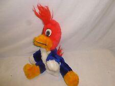 Vtg Retro Woody Woodpecker Hand Puppet Stuffed Animal Toy