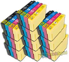 10 Sets Compatible T1285 Ink (40 Cartridges) for Epson Stylus (Non-oem)