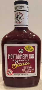 Montgomery Inn Barbecue Sauce: ONE (1) 28oz bottle