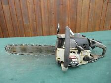 """Vintage CRAFTSMAN PRO 3.4/56  Chainsaw Chain Saw with 15"""" Bar"""