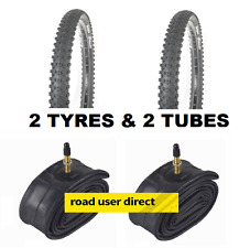 2 x 29r 29 x 2.20 Tyres & 2 x Inner Tubes Presta Valves - Free Delivery