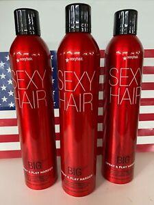 Big Sexy Hair Spray & Play Harder Firm Hairspray 10 oz - Pack of 3