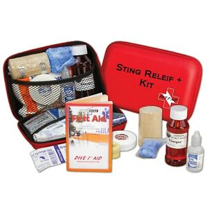 Dive 1st First Aid Sting Relief+ Scuba Diving Kit FAK413