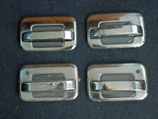 TFP 407 For Ford F-150 2004-2014 Polished Stainless Steel Door Handle Cover Set