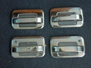 2004-2013 Ford F-150 Stainless Steel Brushed Door Handle Cover