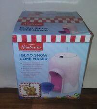 Sunbeam Igloo Ice Shaver, Pink FRSBSCIGO-PNK