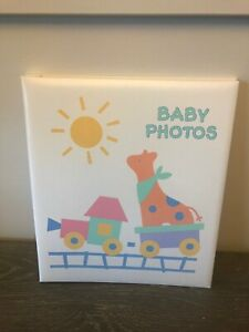Hallmark Baby Photos Large Postbound Photo Album Memory Book