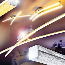 LED Lámpara de techo elegante cromo luces giratorias salon dormitorio pasillo