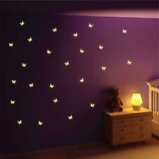 Glow in the Dark Butterfly Wall Stickers Wall Decals Wall Graphics Wall Art M8Y2