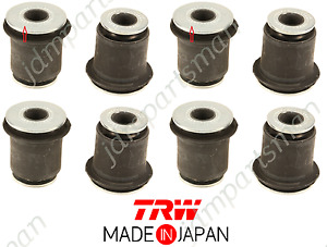 Lower Control Arm Bushing TRW Made in Japan (Set of 8) for Toyota 4Runner Tacoma