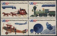 Scotts #1572-75  10c  POSTAL SERVICE Stamp Block of 4, MNH
