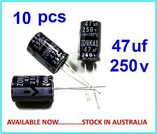 47uF 250V  Electrolytic Capacitor Radial Lead 105°c - 10 pieces - (Part# RC010)