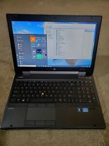 """HP EliteBook Workstation 8560w 15.6"""" i7, 8GB RAM, 128GB SSD, 19V AC, W10 Pro 64"""