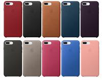 Apple iPhone 8 Plus & 7 Plus Case 🍎 Genuine Leather Case 🛡️ Brand New