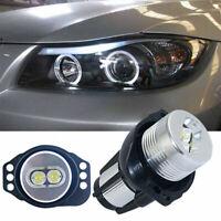 Ampoule LED BMW Série 3 E90 E91 Angel Eyes 6W Blanc Xenon Phare Lampe 2004-2008