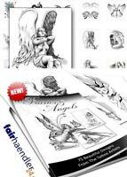 ► ELFEN UND ENGEL TATTOOS FABELWESEN Fairies and Angels Tattoo SEXY Vorlagen MRR