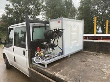 More details for upright skid mounted water bowser with pressure washer