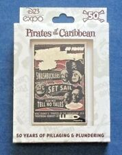 Pirates of the Caribbean 50 Years Attraction Poster Jumbo Pin LE 500 D23 Expo