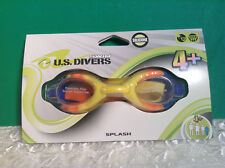 Kid's 4+ Ages Swimming Goggles New in Package UV Protection