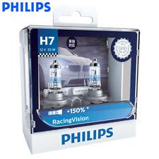 2X Philips H7 RacingVision +150% More Brightness Halogen Lamp 12972RV, US Seller