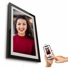 """Digitaler Bilderrahmen Framen Player 21,5"""" 55cm schwarz mit Smartphone-Steuerung"""
