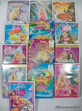 ~Mattel~ Lot 13 BARBIE DVD's Christmas, Mermaid Tale, Swan Lake, Pink Shoes