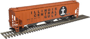 Atlas O Scale PS-4750 Covered Hopper (2-Rail) Illinois Central Gulf/ICG #766402
