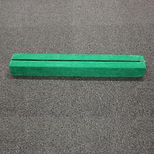 Green 7Ft Sectional Folding Balance Beam Skill Training Performance Equipment