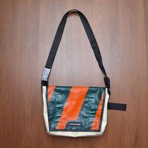 Freitag F12 Messenger Bag White Green Orange