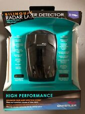 Whistler Z-19R+ Laser Radar Detector, Bilingual Voice Alerts Slightly DamagedBox