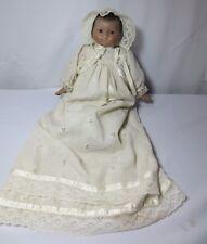 1983 Victoria Ashlea Originals Porcelain black baby doll musical Limited Ed