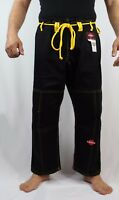 KANKU BJJ, Jiu jitsu Gi pants 10oz Bjj Pants Black White Blue Kids, Adult MMA