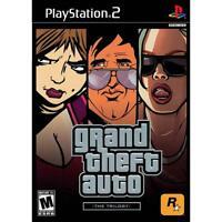 Grand Theft Auto Trilogy [PlayStation 2 PS2, GTA 3, Vice City, San Andreas] NEW