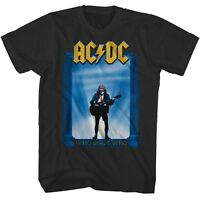 AC/DC cd cvr WHO MADE WHO Official Grey SHIRT New angus young L-XL