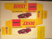 REPLIQUE  BOITE MONTEVERDI 375  DINKY TOYS 1969